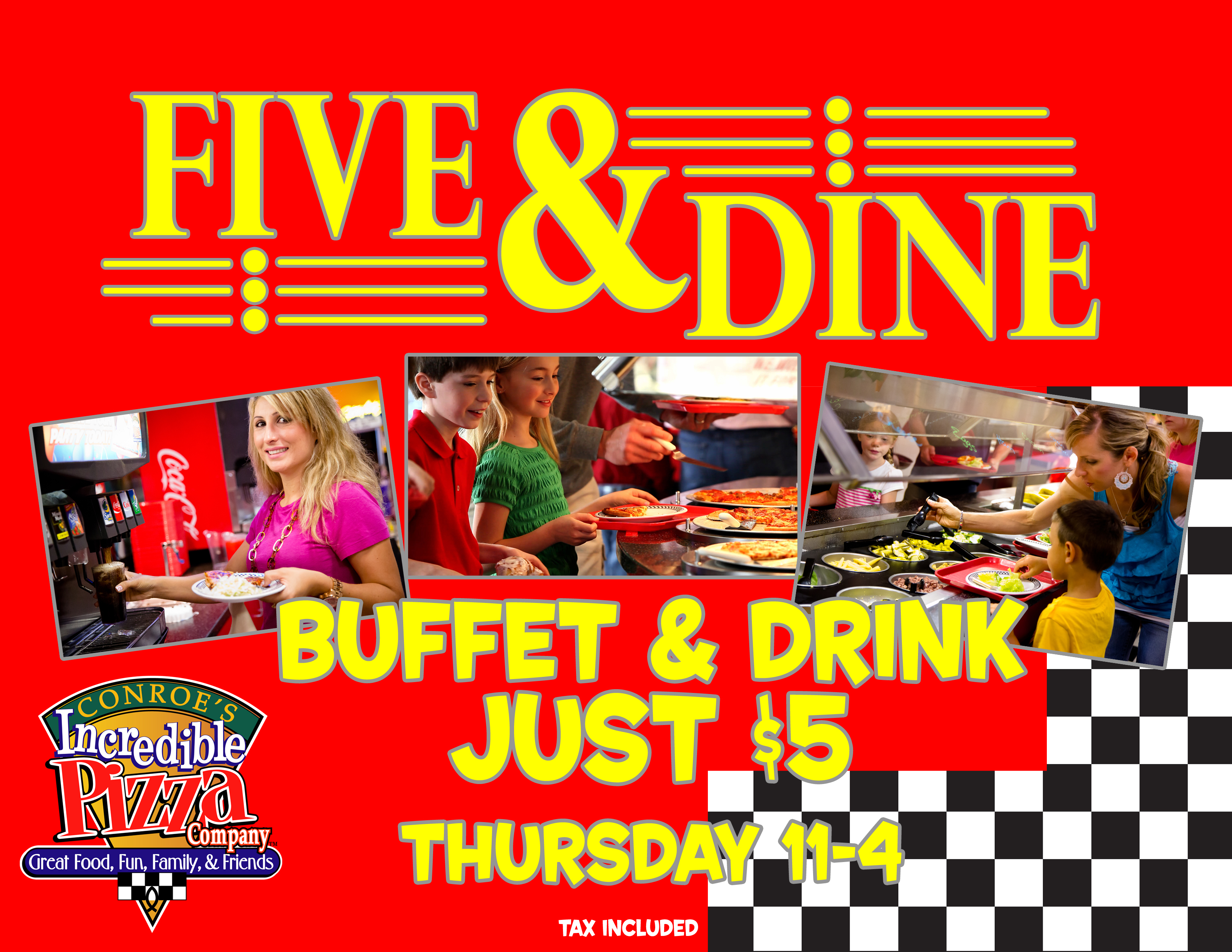 Tuesday. Senior Tuesday It's time to socialize! Our Senior guests (age 55 years +) enjoy the unlimited buffet and drink for just $ all day long.