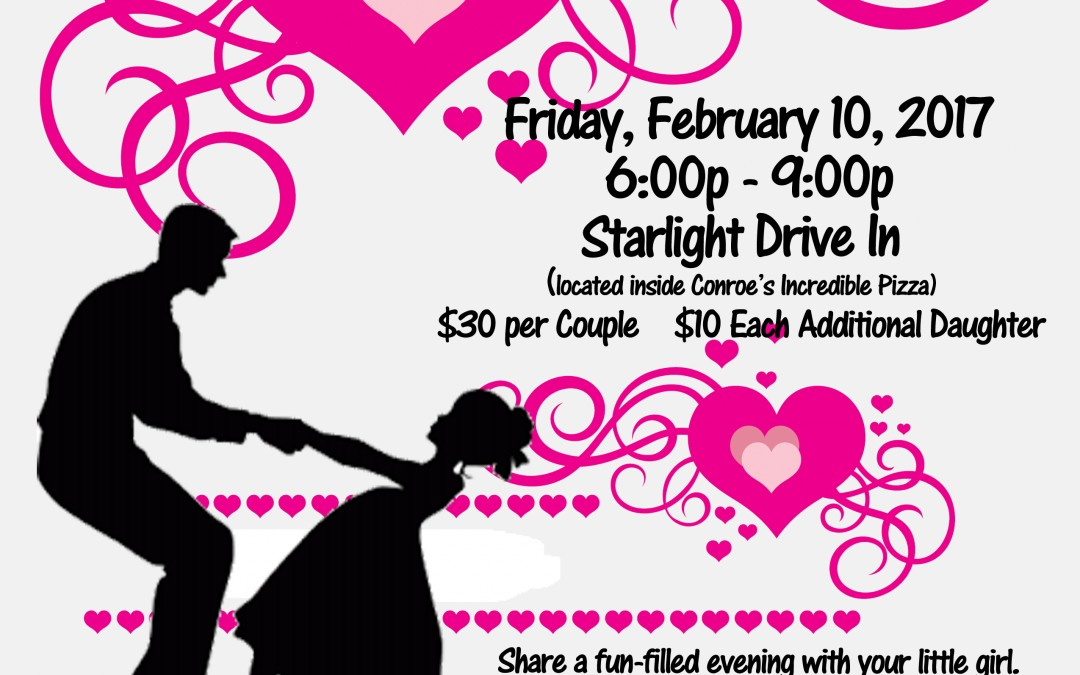 Daddy Daughter Dance – Fri., Feb. 10