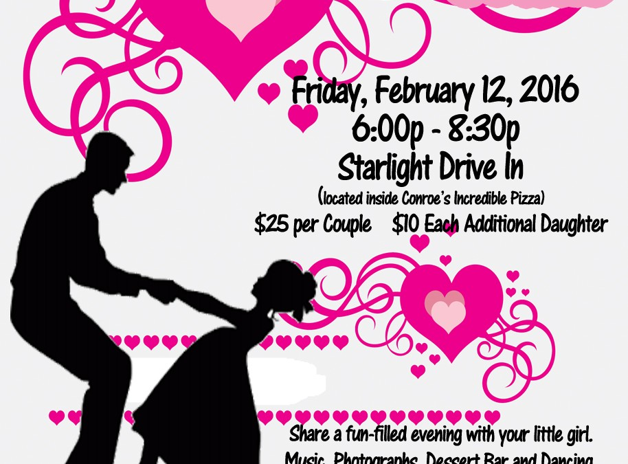 Daddy Daughter Dance – Feb. 12