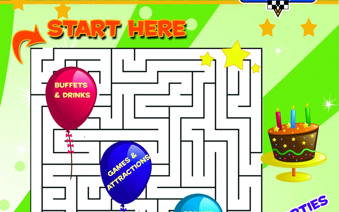 Party Planning Can Be a Maze – Let us help!