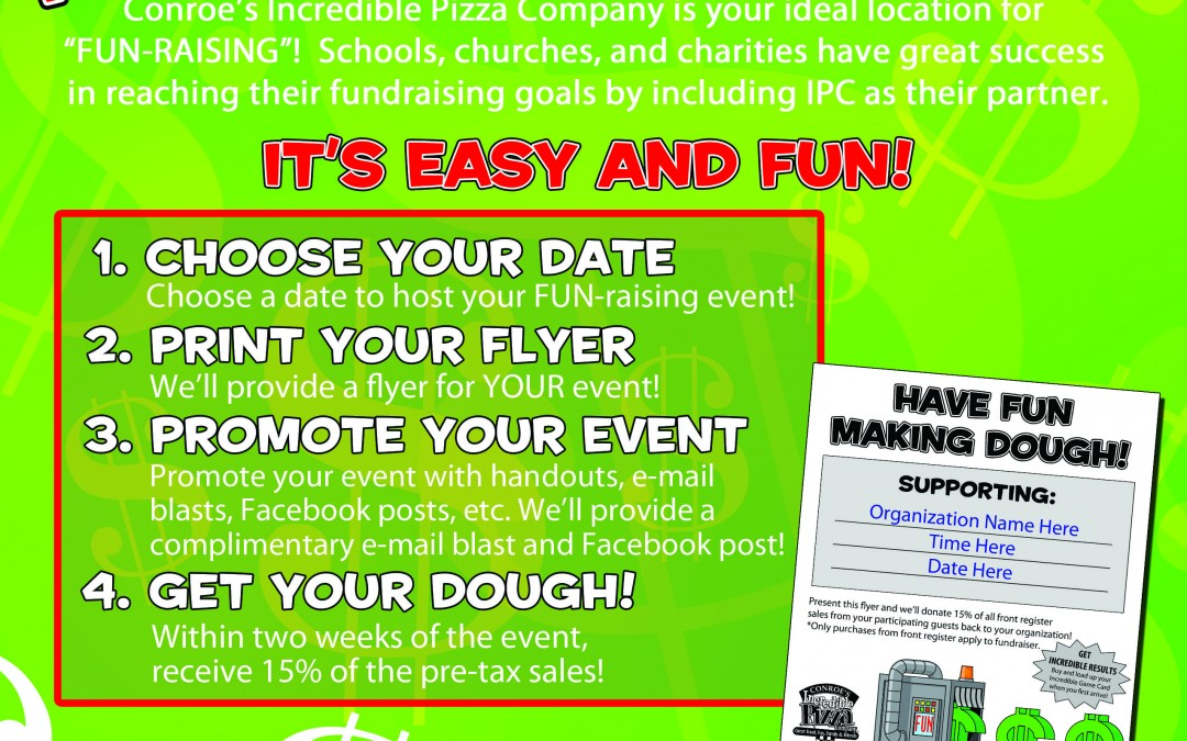 funraiser archives incredible pizza company enjoy our huge all