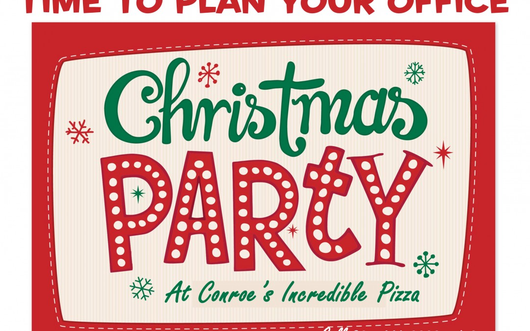 Time to Plan the Office Christmas Party!
