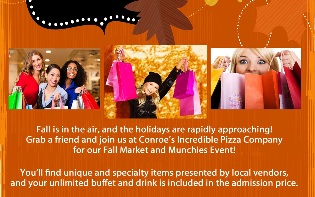 2nd Annual Fall Market & Munchies – Nov. 10