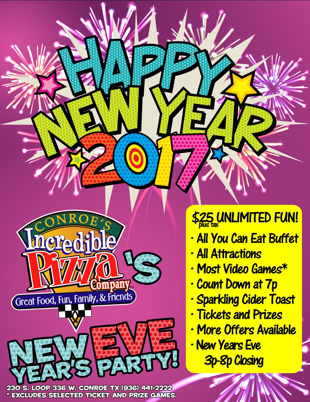 Celebrate New Year's Eve…IPC Style