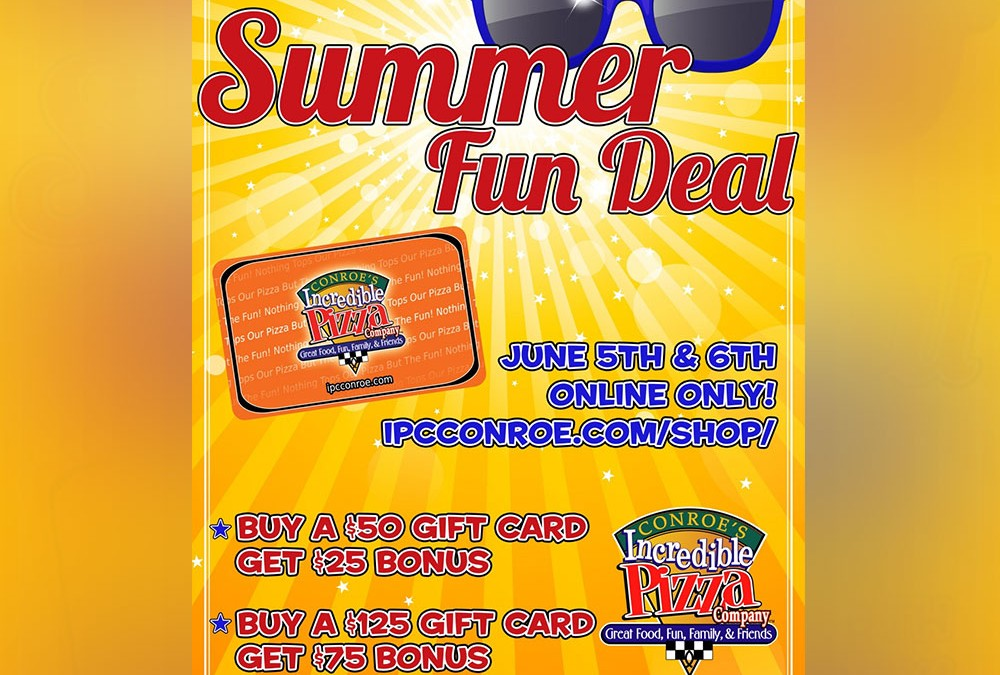 Summer Fun Deal is Coming!!!