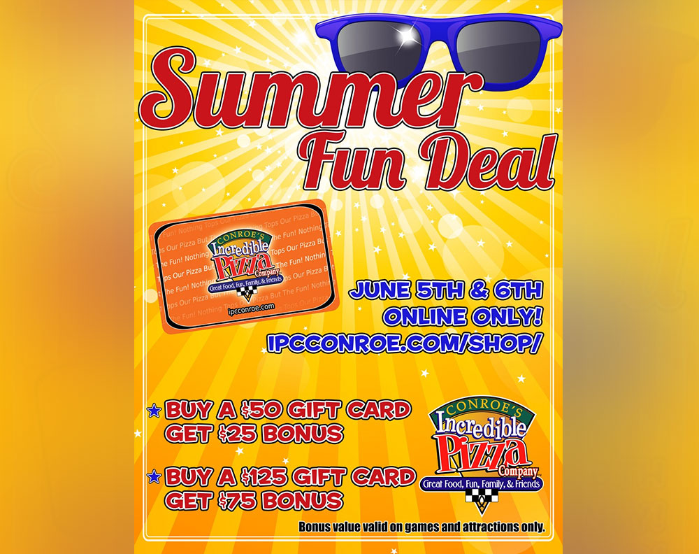 Summer Fun Deal Online June 5 & 6!!!