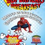 Superhero Breakfast image