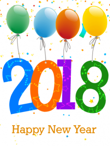 Happy New Year 2018 Images Png Celebrating Card Birthday Greeting Cards Davia