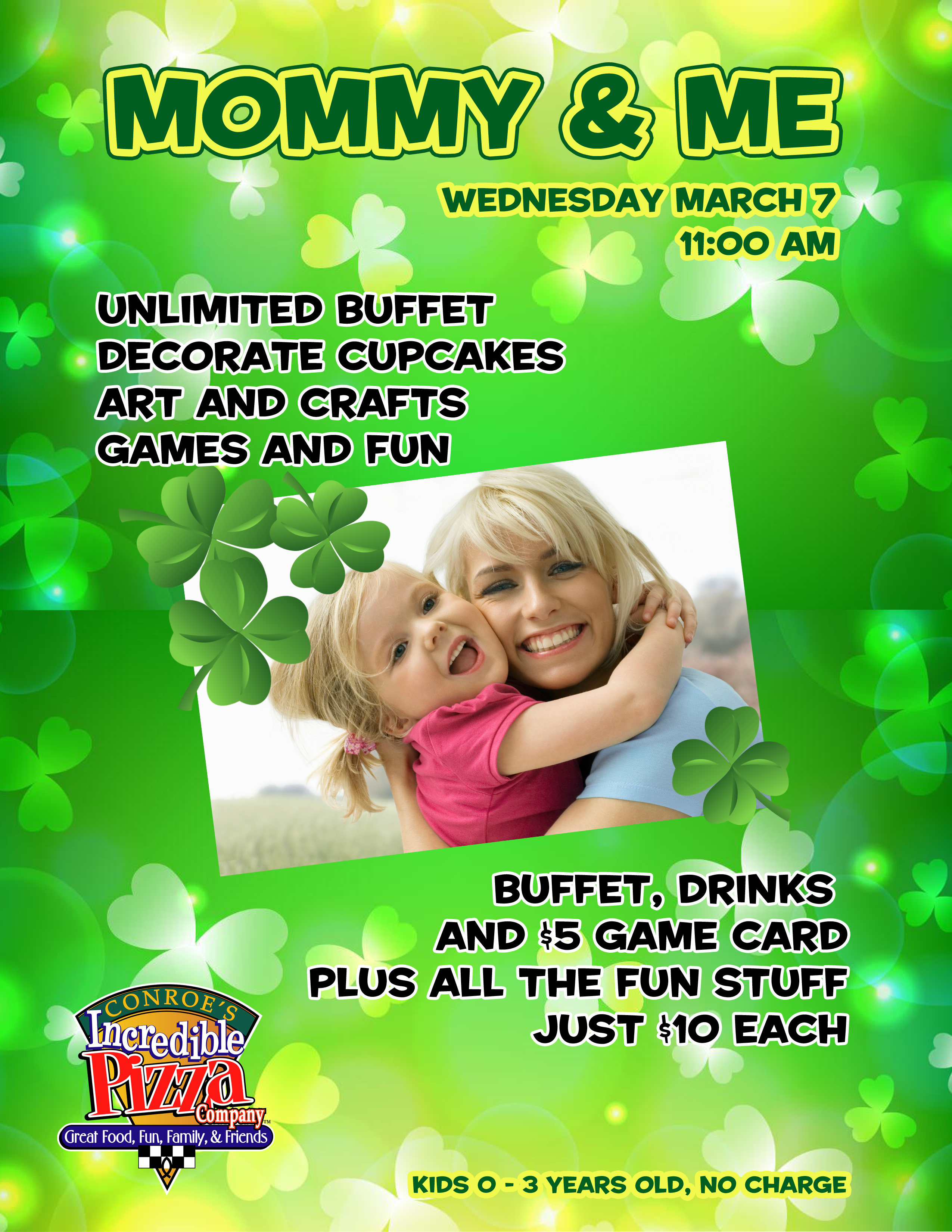 March Mommy & Me – Wed., Mar. 7