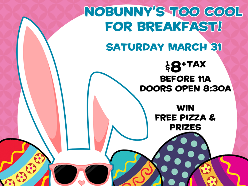 Breakfast with the Bunny-Sat.,March 31!