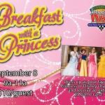 bfast with princess sept 2018