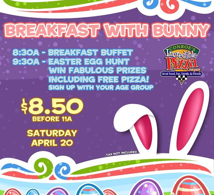 Easter Egg Hunt & Breakfast with Bunny