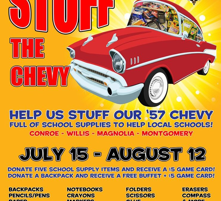 Stuff the Chevy!