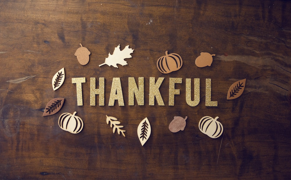 Gratitude-Happy Thanksgiving!